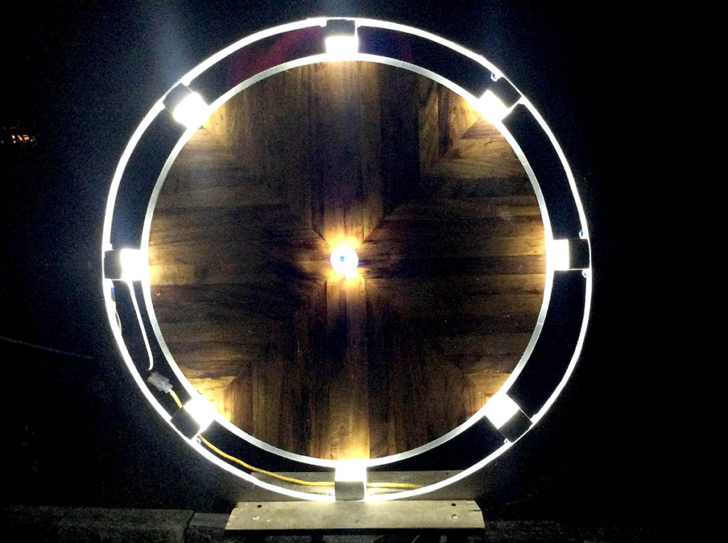 WGS Art: Bill Simons Light Sculpture